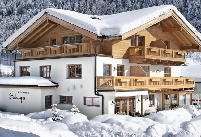 Appartementhaus Stockinger mitten in Ski amadé